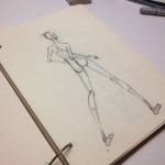 Fashion Illustration Exercises I 服装效果图练习